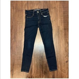 American Eagle Dark Super Super Stretch Jeggings